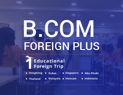 B.Com with foreign educational tour